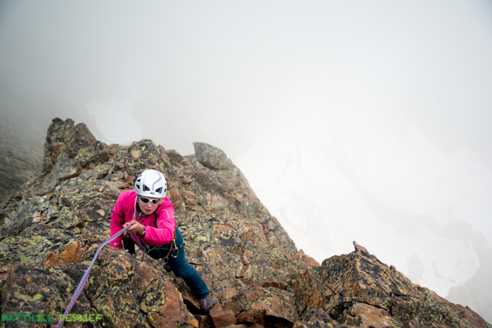 Audrey : Last pitch in the fog !