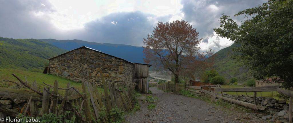 near the village : final steps !